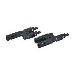 Par de conector MC4 macho y hembra doble 4-6 mm2 -riegobueno.cl